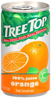 Tree Top® Real Fruit From Natural People® 100% Juice Orange From Concentrate 5.5 oz Can