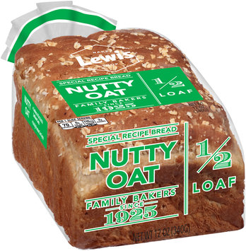 Lewis® Nutty Oat Special Recipe Bread 12 oz. Pack