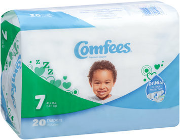 CMF-7 Comfees® Baby Diapers Size 7, 20 count
