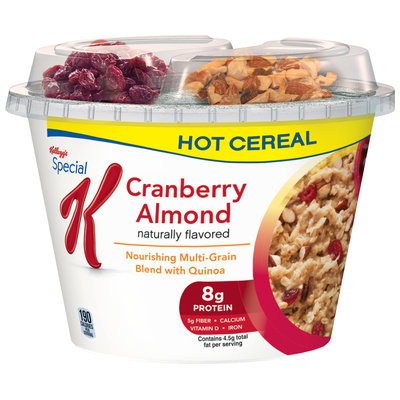 Special K®Kellogg's Cranberry Almond Hot Cereal