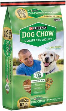 Purina Dog Chow Complete Adult Dog Food 57 lb. Bonus Bag