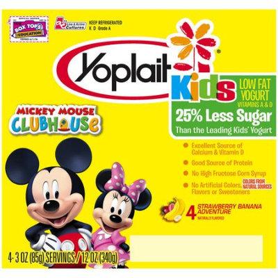 Yoplait® Kids Royal Strawberry Banana Low-fat Yogurt