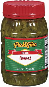Pickle Fair Sweet Relish 16 Oz Jar