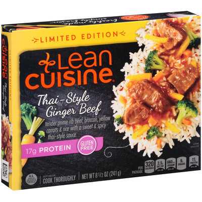 LEAN CUISINE MARKETPLACE Limited Edition Thai-Style Ginger Beef 8.5 oz. Box