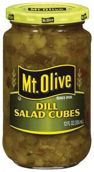 Mt. Olive Dill Salad Cubes 12 Fl Oz Jar