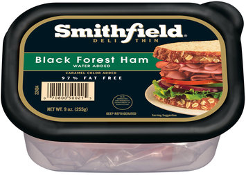 Smithfield® Deli Thin Black Forest Ham 9 oz. Tub