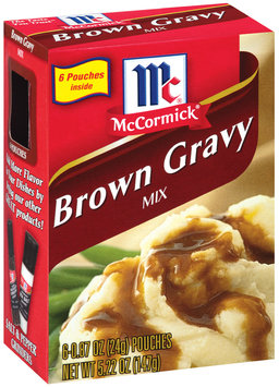 McCormick  Brown Gravy Mix 6 Ct Box