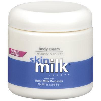 Skin Milk Moisturize & Nourish Body Cream 16 Oz Jar