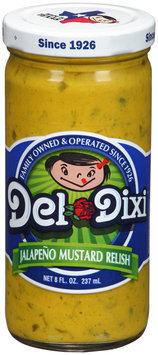 Del Dixi® Jalapeno Mustard Relish 8 fl. oz. Jar
