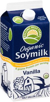 Rolling Hills Farm™ Vanilla Organic Soymilk .5 gal. Carton