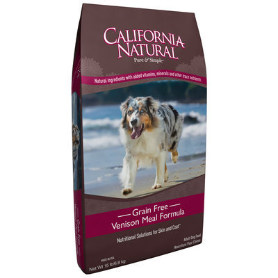 California Natural® Grain Free Venison Meal Formula Adult Dry Dog Food 15 lb. Bag