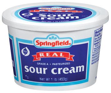 Springfield Real Sour Cream 16 Oz Tub