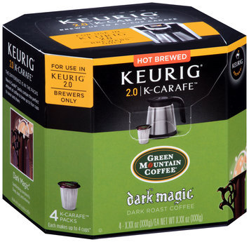 Green Mountain Coffee® Dark Magic® Dark Roast Coffee K-Carafe™ Packs 4 ct Box