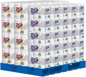 Scott® Extra Soft Bathroom Tissue/Long Lasting Paper Towels Display