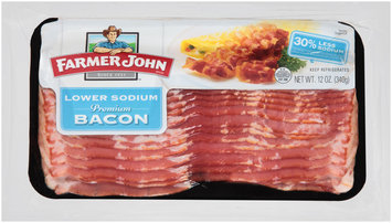 Farmer John™ Lower Sodium Premium Bacon 12 oz. Pack