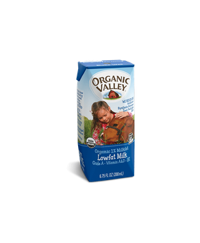 Organic Valley® Single-Serve Lowfat 1% Milk