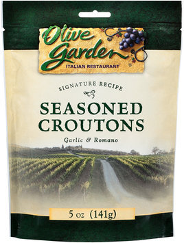 Olive Garden Garlic & Romano Seasoned Croutons 5 oz. Bag