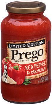 Prego® Limited Edition Red Pepper & Parmesan Italian Sauce 24 oz. Jar