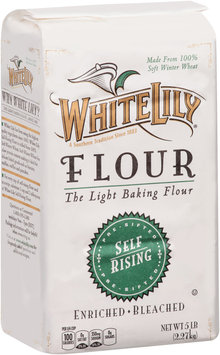 White Lily® Pre-Sifted Self-Rising Enriched Bleached Flour 5 lb. Bag