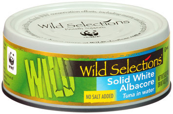Wild Selections® Solid White Albacore Tuna in Water 5 oz. Can