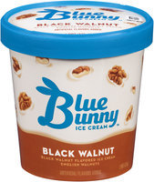 Blue Bunny® Black Walnut Ice Cream 1 pt Tub
