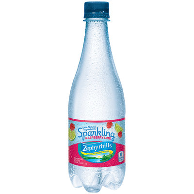 Zephyrhills® Sparkling Raspberry Lime Natural Spring Water