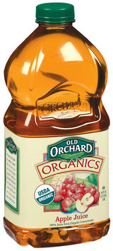 Old Orchard Organics  Apple Bottled Juice  64 Oz Plastic Bottle