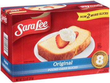 Sara Lee® Original Pound Cake Slices 11.2 oz. Box