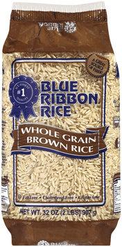 Blue Ribbon Whole Grain Brown Rice 32 Oz Bag