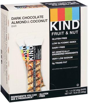 KIND® Fruit & Nut Dark Chocolate Almond & Coconut Bar 12 - 1.4 oz. ct Box