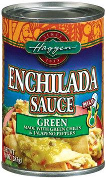 Haggen Green Mild Enchilada Sauce 10 Oz Can