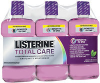 Listerine® 1 Liter Triple Club Pack Total Care Anticavity Mouthwash 3 Pk Wrapper