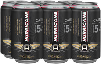 Hurricane Malt Liquor 6-12 fl oz Cans
