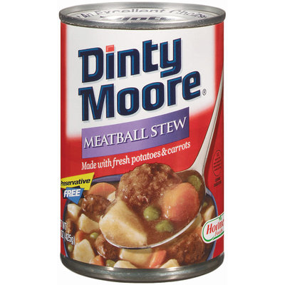 DINTY MOORE W/Fresh Potatoes & Carrots Meatball Stew 15 OZ CAN