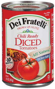 Dei Fratelli Diced Chili Ready Tomatoes 14.5 Oz Can
