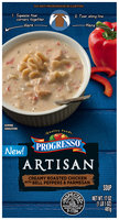 Progresso™ Artisan Creamy Roasted Chicken with Bell Peppers & Parmesan Soup