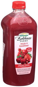 Bolthouse Farms® Cherry Multi-V Goodness™ 100% Fruit Juice Smoothie + Boosts 52 fl. oz. Bottle