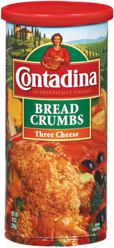 Contadina Three Cheese Bread Crumbs 10 oz. Canister