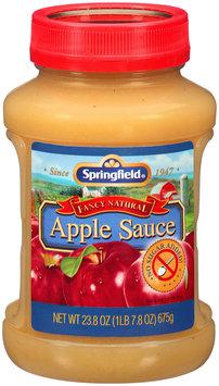 Springfield® Fancy Natural No Sugar Added Apple Sauce 23.8 oz. Jar