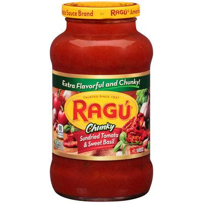 Ragu® Chunky Sundried Tomato & Sweet Basil Sauce 23.9 oz. Jar