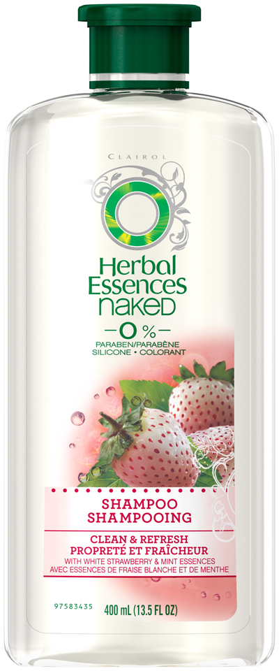 Cleanse & Restore Herbal Essences Naked Clean and Refresh Shampoo 13.5 fl oz