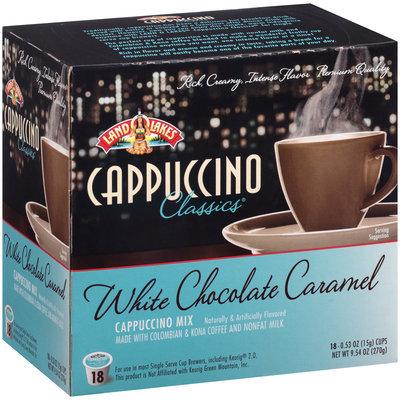 Land O'Lakes® Cappuccino Classics® White Chocolate Caramel Cappuccino Mix 9.54 oz. Box