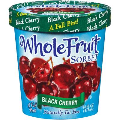 Whole Fruit® Black Cherry Sorbet 16 oz. Tub