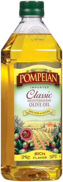 Pompeian Imported Classic Mediterranean Rich Flavor Olive Oil 24 Oz Plastic Bottle