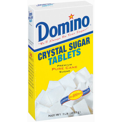 Domino Crystal Pure Cane Sugar Tablets