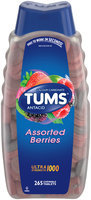 Tums® Ultra Strength 1000 Assorted Berries Antacid/Calcium Supplement Chewable Tablets 265 ct Bottle