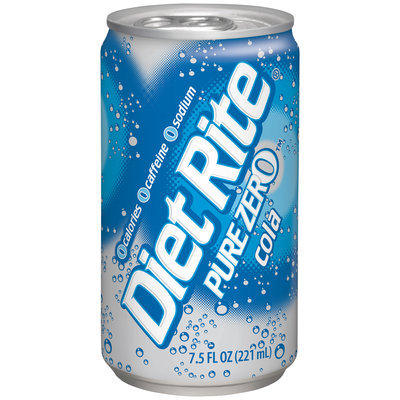Diet Rite® Pure Zero™ Cola 6-7.5 fl. oz. Cans