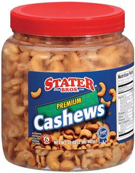 Stater Bros. Premium Cashews 32 Oz Plastic Jar