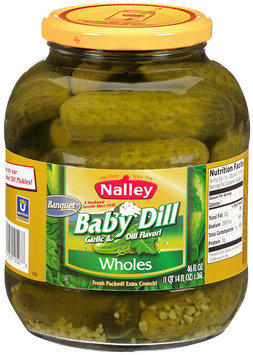 Nalley® Baby Dill Wholes Pickles 46 fl. oz. Jar