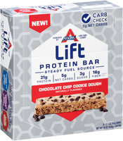 Atkins® Lift Chocolate Chip Cookie Dough Protein Bar